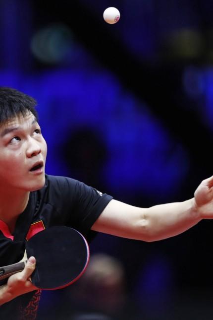 Fan Zhendong CHN APRIL 25 2019 Table tennis Tischtennis 2019 World Table Tennis Championship
