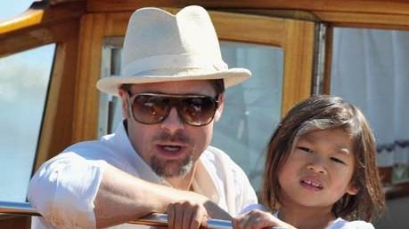 Brad Pitt; Pax Thien Jolie-Pitt; Getty Images