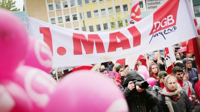 1. Mai Kundgebung