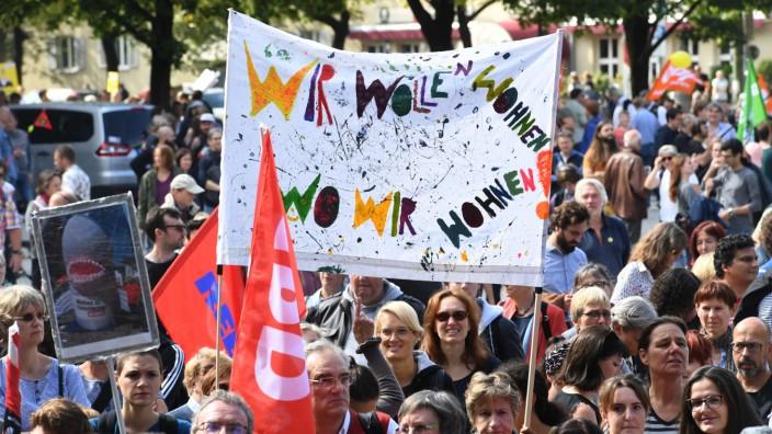 Bundesweiter Protesttag des Bündnisses #Mietenwahnsinn