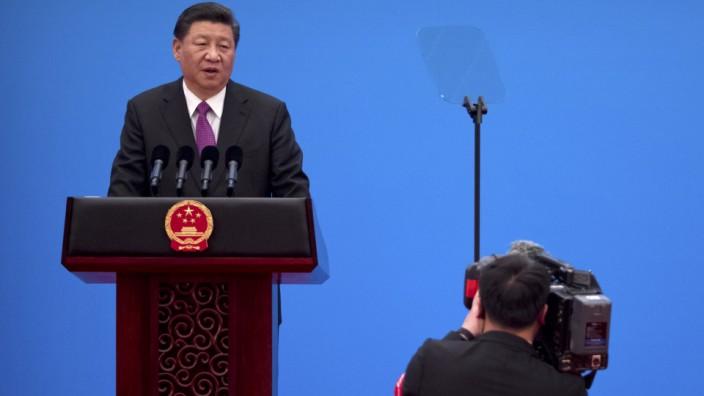 'Seidenstraßen'-Gipfel in China