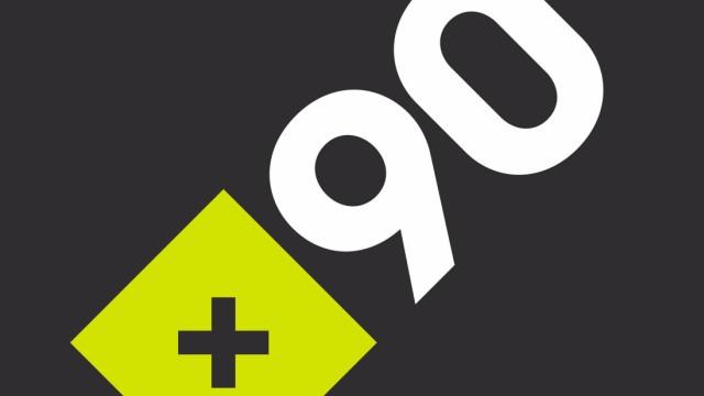 Logo +90 Deutsche Welle