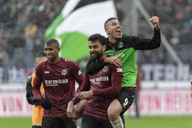 GER 1 FBL Hannover 96 vs 1 FSV Mainz 05 27 04 2019 HDI Arena Hannover GER 1 FBL Hannover 9