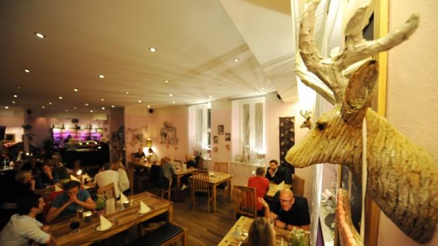 """Restaurant """"Waldfee"""" in München, 2015"""