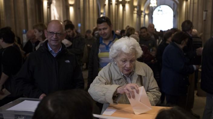 Wahl in Spanien