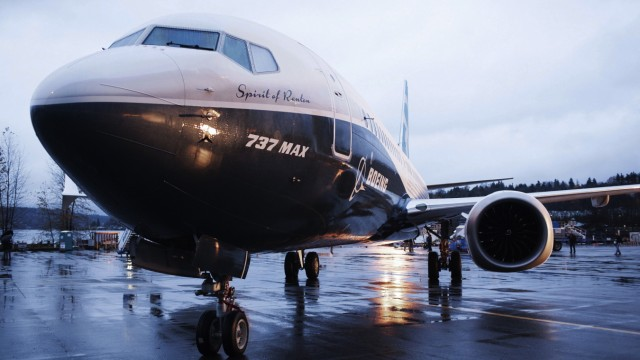 Boeing 737 MAX in Renton, Washington
