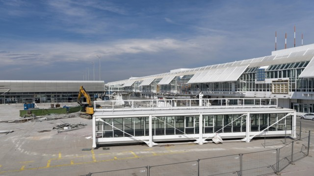 Baumassnahmen am Flughafen Muenchen