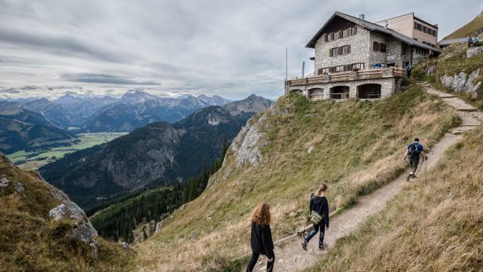 Allgäu Hütte Bayern