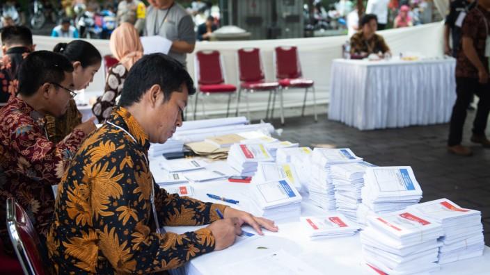 Wahlen in Indonesien