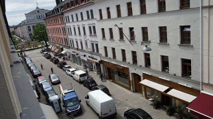 Die Reichenbachstraße soll autofrei werden - das fordert der Bezirksausschuss Ludwigsvorstadt-Isarvorstadt