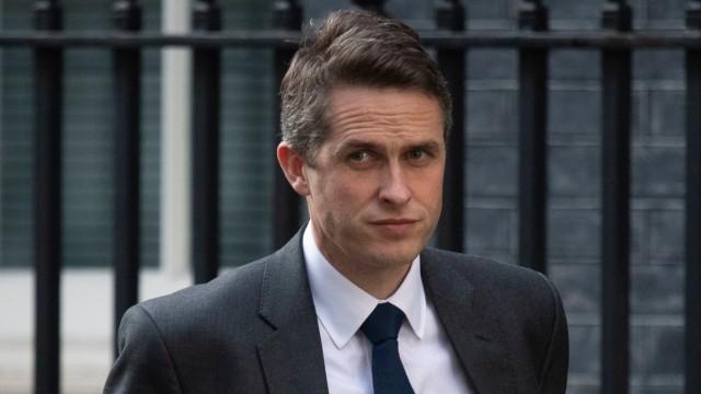 Der britische Verteidigungsminister Gavin Williamson im April 2018