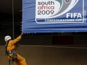 Fußball WM 2010 Confed Cup Südafrika, dpa