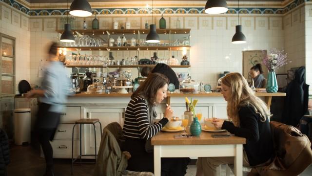 Cafe Marita, Schulstr. 34. Frühstück