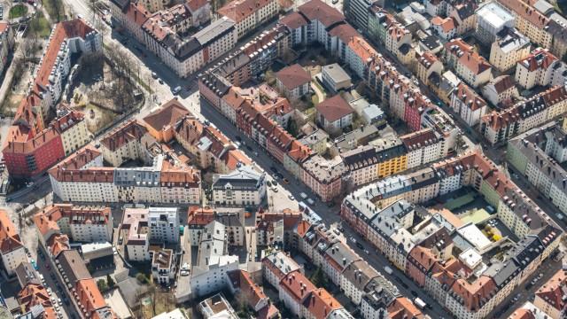 Innenstadt aus der Luft