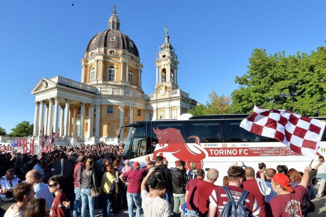 Commemoration ceremony for Torino FC players who died in the Supe; Turin AC