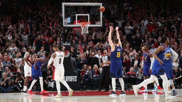 NBA: Playoffs-Denver Nuggets at Portland Trail Blazers