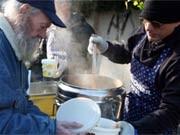 armenspeisung deutsche tafel; ehrenamt und zivilcourage