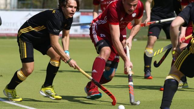 31 03 2019 Feldhockey Hockey Saison 2018 2019 1 Bundesliga Herren Männer Nürnberger HTC H; Justus Weigand - Hockey Nürnberg