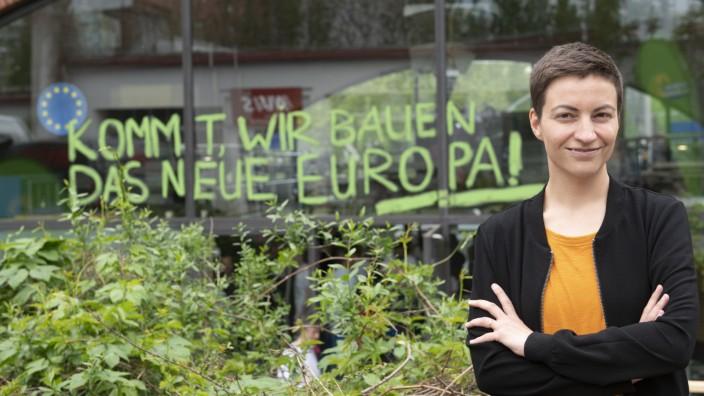 Eröffnung des Europawahlkampf-Camps der Grünen