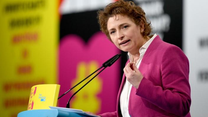 Nicola Beer auf dem FDP-Bundesparteitag 2019 in Berlin