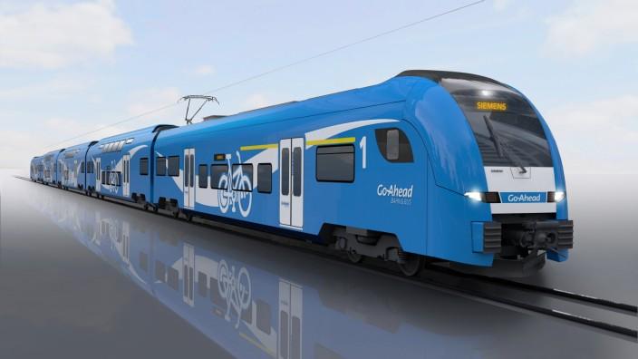 56 Regionalzüge für Augsburger Netze / 56 regional trains for Augsburg rail networks