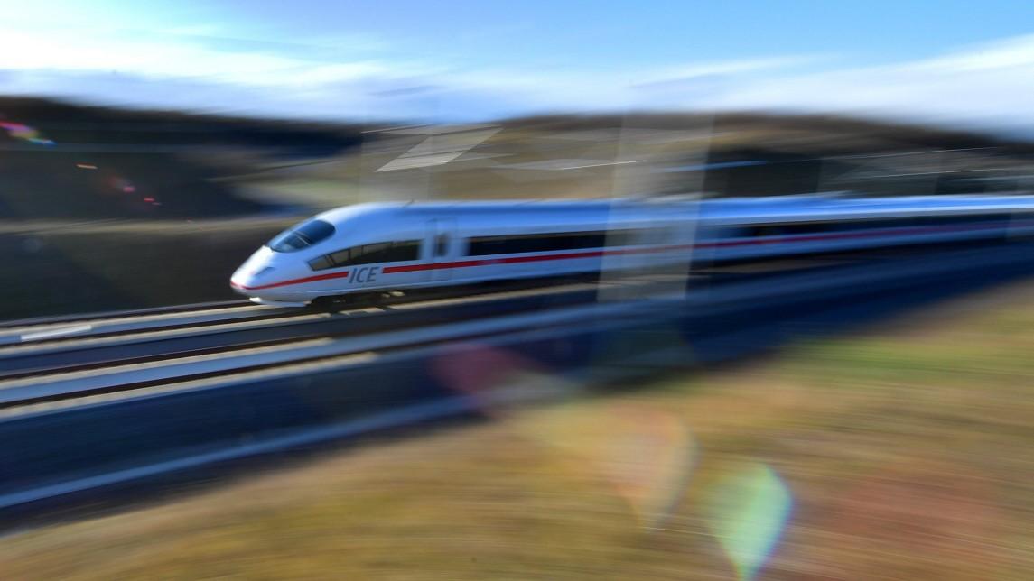 Deutsche Bahn Der Ice Bald Im Deutschland Takt