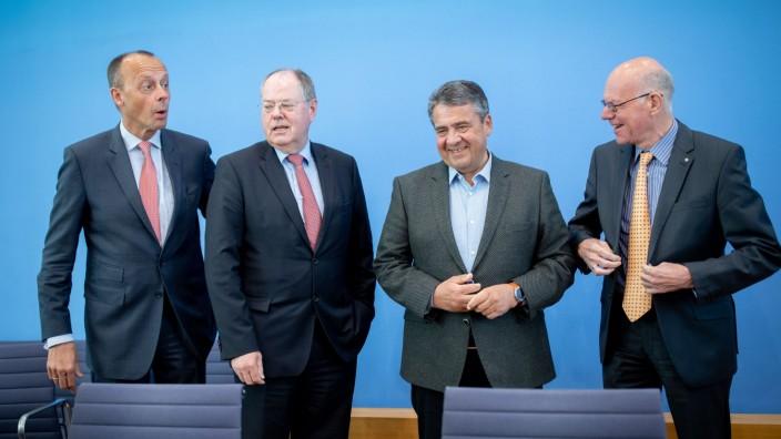 Europawahl Merz Steinbrück Gabriel Lammert