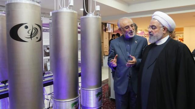 Iran Präsident Atomabkommen