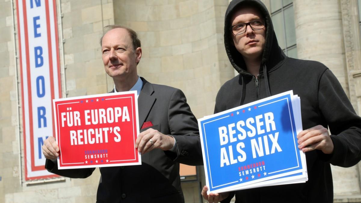 Sonneborn künftig nicht mehr allein in Brüssel