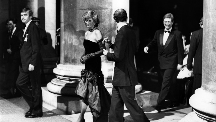 Prinz Charles und Prinzessin Diana in München ,1987