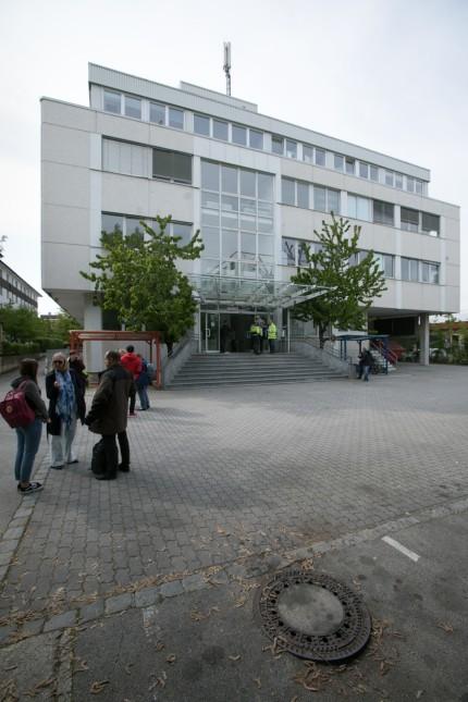 Neue Unterkunfts-Dependance Am Moosfeld 37, Unterkunft-Anker Oberbayern, Flüchtlingsunterkunft