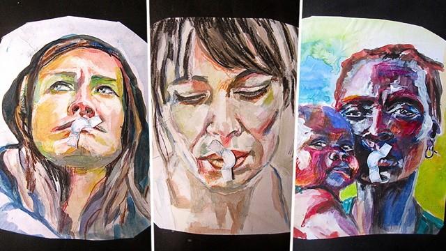 Frauenbilder von Lisa Kötter
