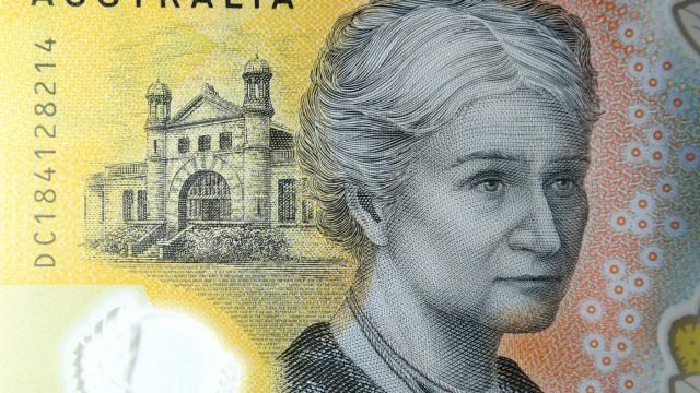 Rechtschreibfehler auf australischem Geldschein