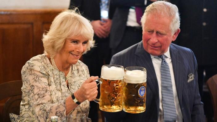 Britisches Thronfolgerpaar in München