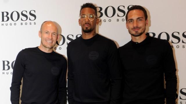 Mode Hugo Boss und der FC Bayern