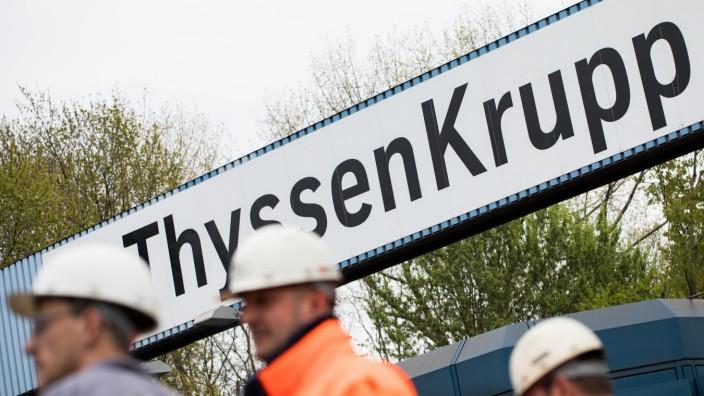 Thyssenkrupp will 6000 Stellen streichen