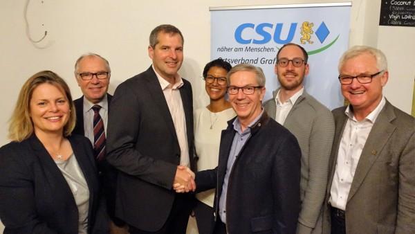 CSU Grafing kürt Bürgermeisterkandidaten Christian Bauer