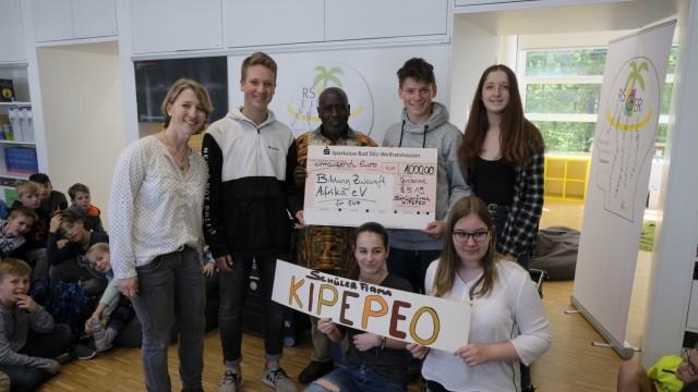 Realschule Geretsried Besuch aus Kenia in Geretsried