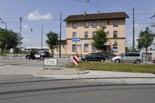 Haltestelle S-Bahnhof Moosach in München, 2012