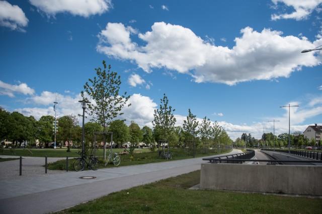 Wo München schöner wurde - Luise-Kiesselbach-Platz