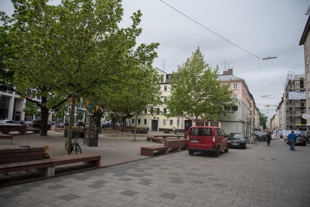 Wo München schöner wurde - Rudi-Hierl-Platz