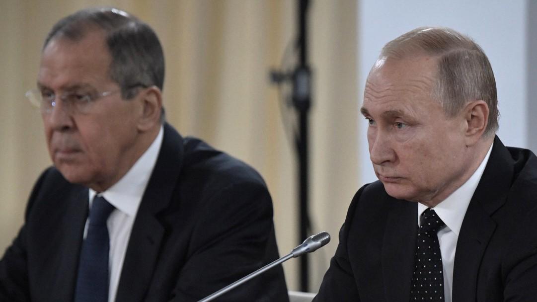 Pompeo trifft Putin und Lawrow in Sotschi