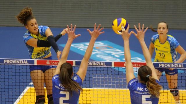 SSC Palmberg Schwerin Allianz MTV Stuttgart Deutschland Schwerin 09 05 2019 Volleyball 1 Bun