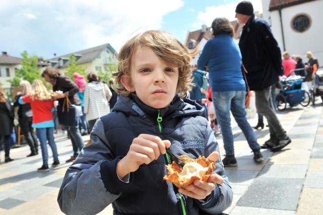 Starnberg: Kirchplatz: Sternlauf-Future for Kidz
