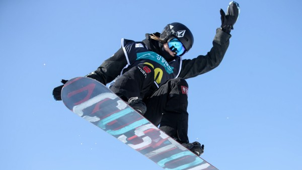SNOWBOARD FREESTYLE FIS WC PyeongChang PYEONGCHANG SOUTH KOREA 14 FEB 17 SNOWBOARD FREESTYLE F; Snowboard