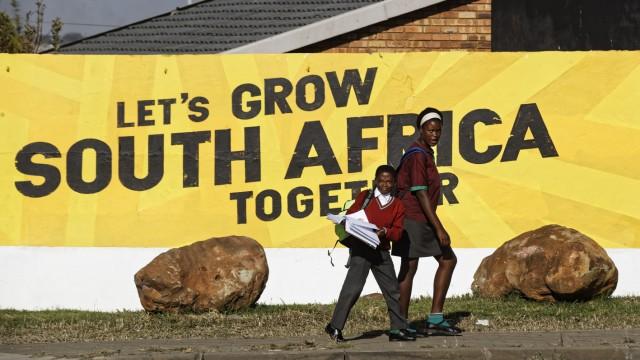 Vor den Wahlen in Südafrika
