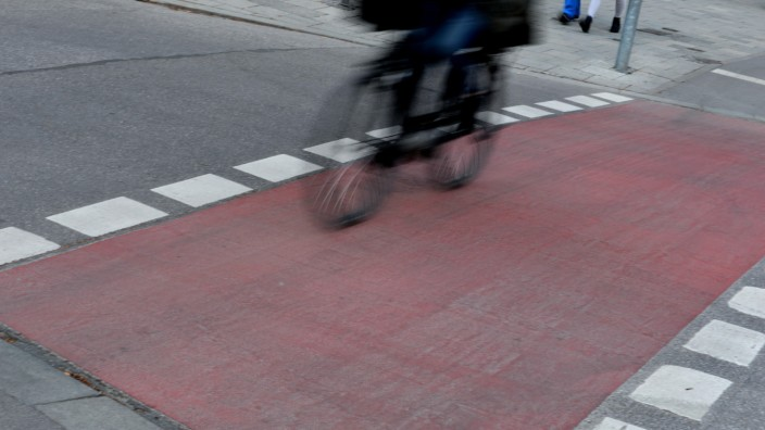 Radfahrer in München, 2019
