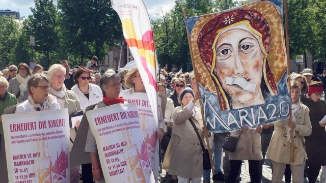 Kirchenstreik Maria 2.0 in Münster