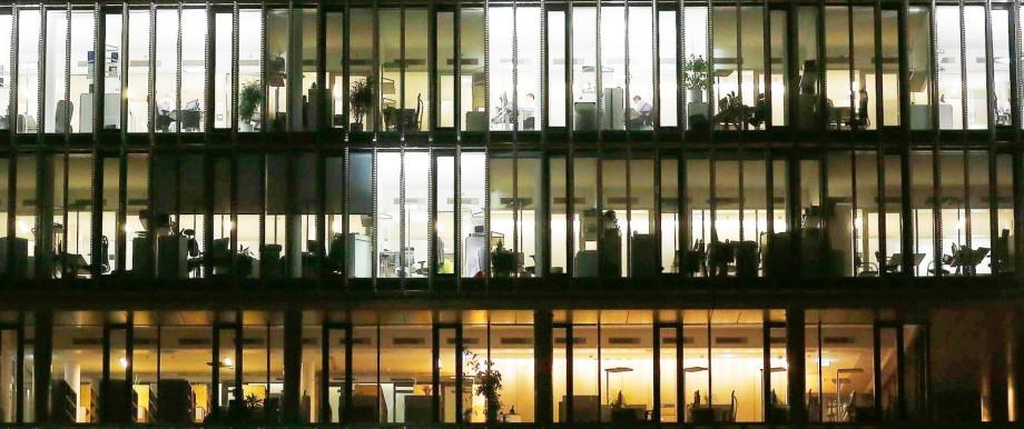 Bürogebäude von ThyssenKrupp in Essen