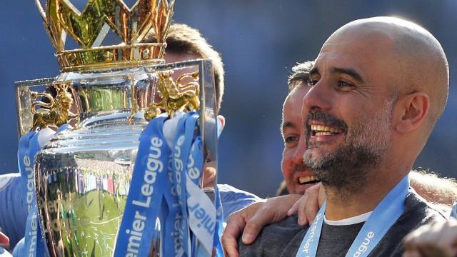 Internationaler Fußball Meister Manchester City